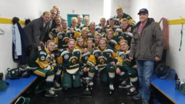 The Humboldt Broncos junior hockey team