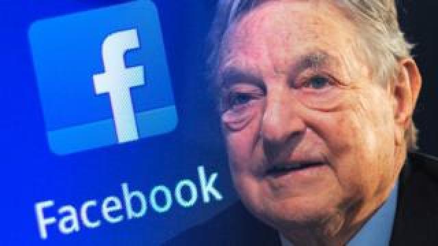 Soros Facebook montage