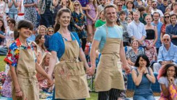 The Great British Bake Off finalist