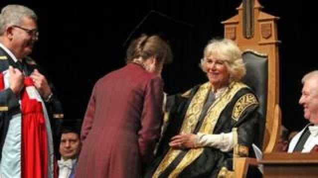 Princess Anne getting degree from Camilla