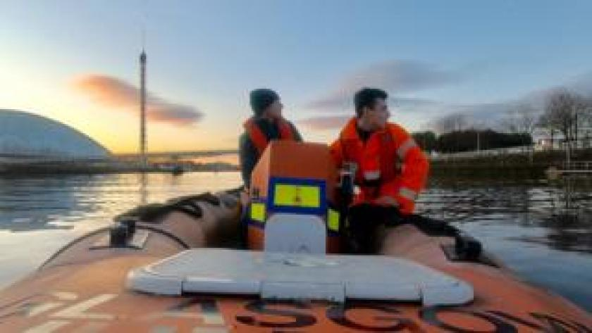 Glasgow rescue boat