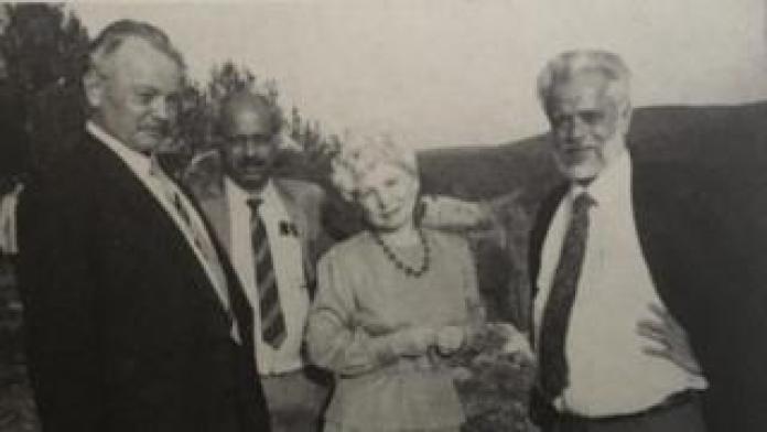 Food Nambi Narayanan with Russian scientists