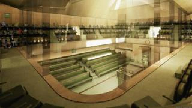 Computer-generated image of proposed new Commons chamber
