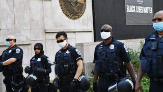 Police in Washington DC