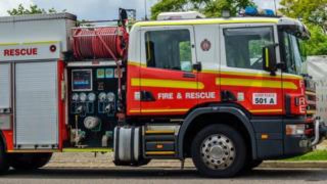 A generic image of a fire truck in Queensland, Australia