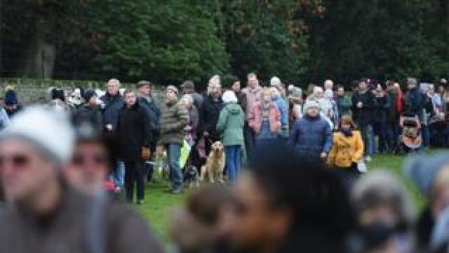 Crowds at Sandringham