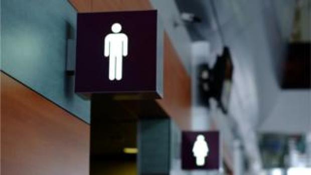 Men's and women's toilet signs