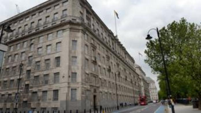 Штаб-квартира МИ-5 в Лондоне