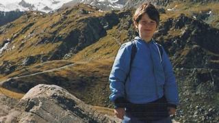 Nicholas Green on the Alps