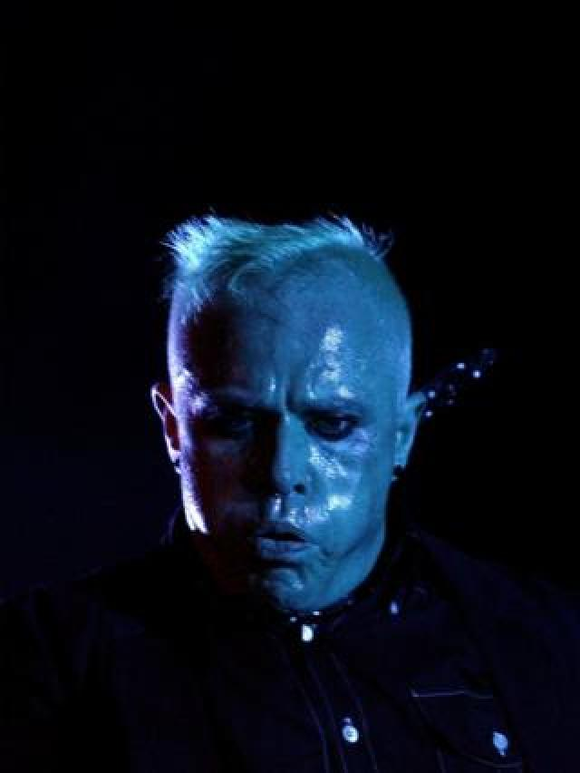 Keith Flint performs during the first day of the Isle of Wight Festival at Seaclose Park in Newport on the Isle of Wight June, 2006
