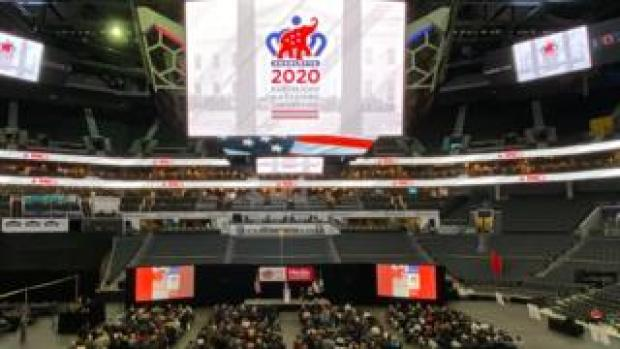 The Republican National Committee holds a media walkthrough for the 2020 Republican National Convention