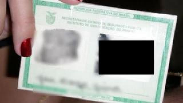 A Brazilian ID card.