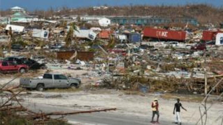 Devastation in Great Abaco