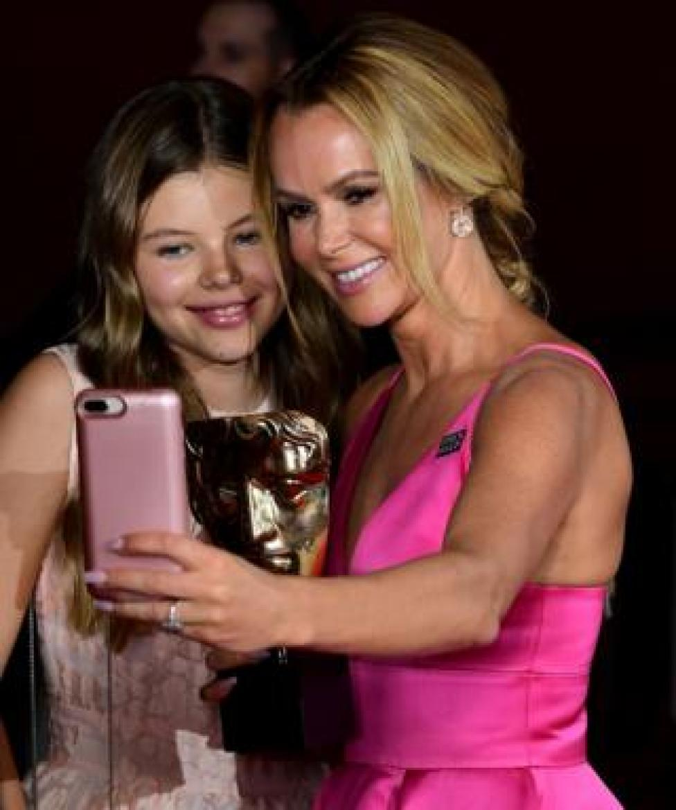 Amanda Holden and daughter Alexa