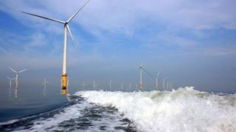 Burbo Bank Offshore Wind Farm, Liverpool