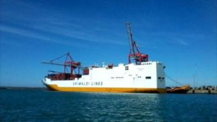 Grande Tema cargo vessel