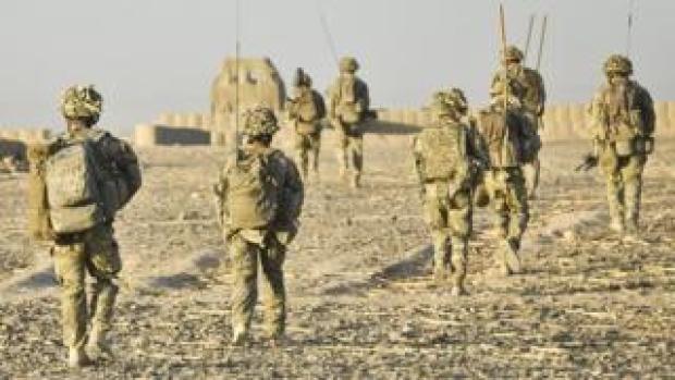 British soldiers in Helmand