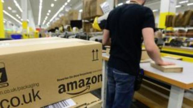 Amazon warehouse in Germany