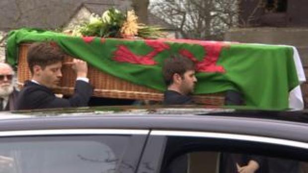 Paul Flynn's funeral