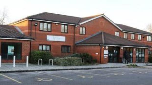 Parkside Medical Centre in Whalley Drive, Bletchley