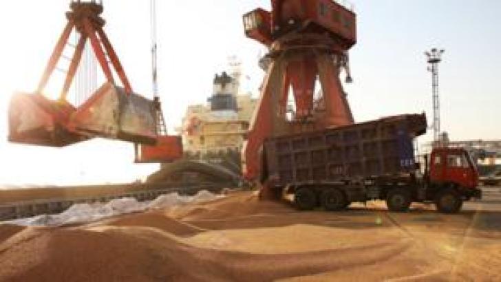 Nantong port in China's eastern Jiangsu province