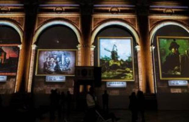 Van Gogh projections