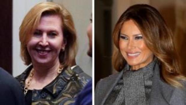 Mira Ricardel/ Melania Trump