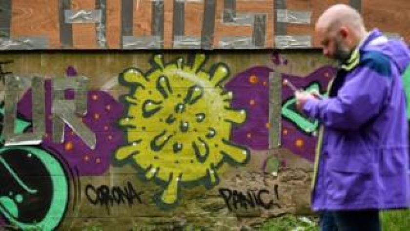 Graffiti in Edinburgh