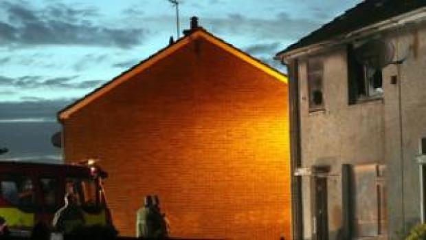 Ballymena house fire