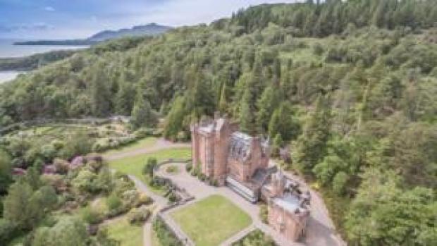 Sixteen-bedroom Glenborrodale Castle for sale