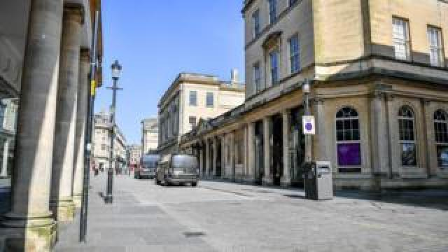 Bath city centre, 24 March 2020