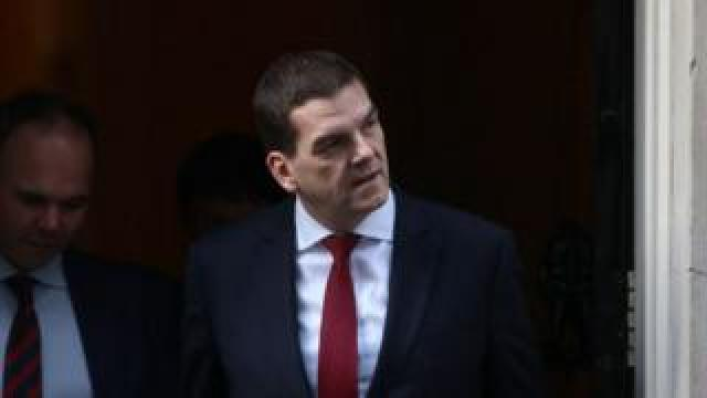 Olly Robbins, former PM's Brexit negotiator