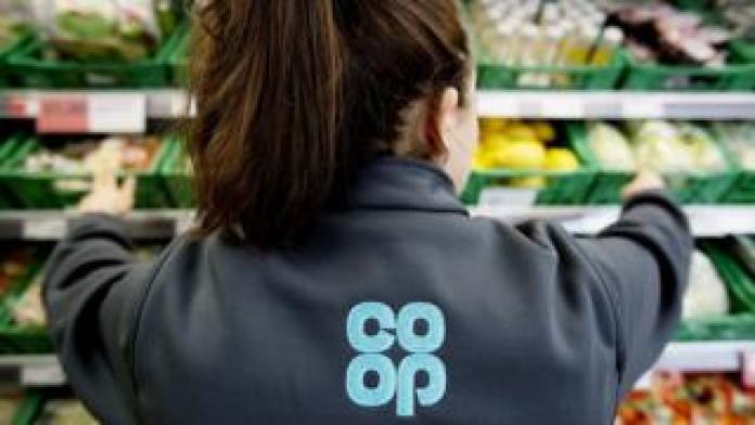 Co-op worker