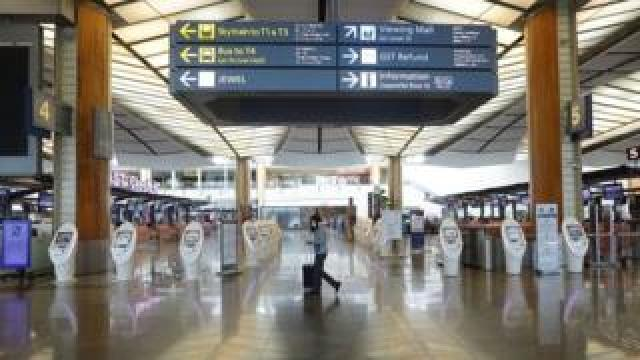"""Singapore's Changi Airport has warned of a """"daunting period"""" ahead."""