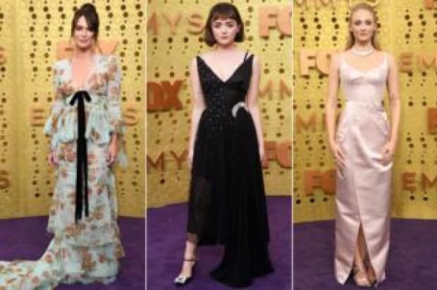 Lena Headey, Maisie Williams and Sophie Turner