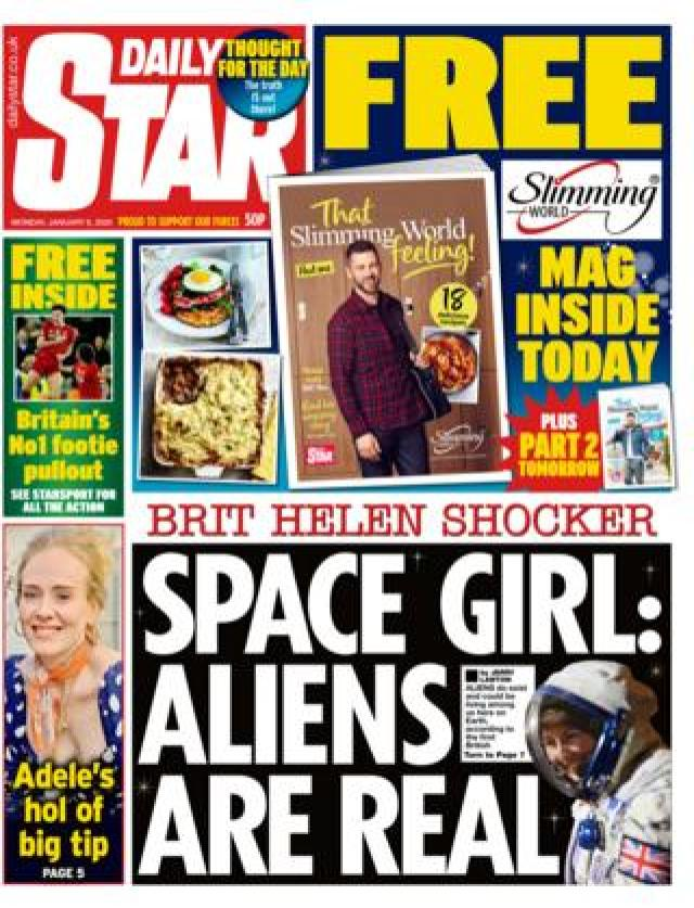 Star front page 6 January 2020
