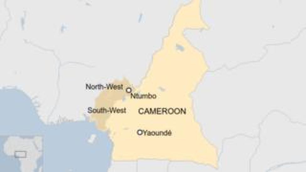 trump Cameroon map