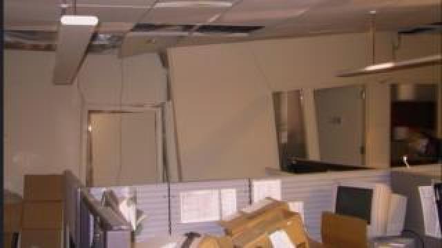 inside a building by Ground Zero