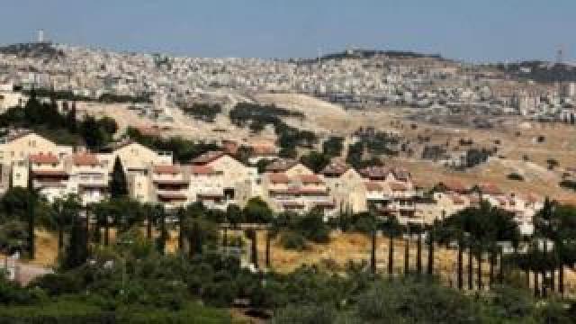 مستوطنة معاليه أدوميم الإسرائيلية في الضفة الغربية المحتلة، في 1 تموز/يوليو 2020