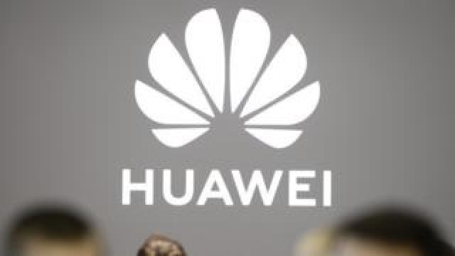 Huawei sign