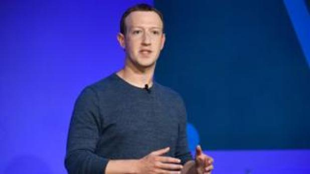 Facebook boss Mark Zuckerberg