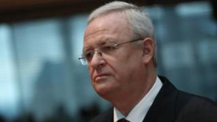 Martin Winterkorn, former CEO of VW