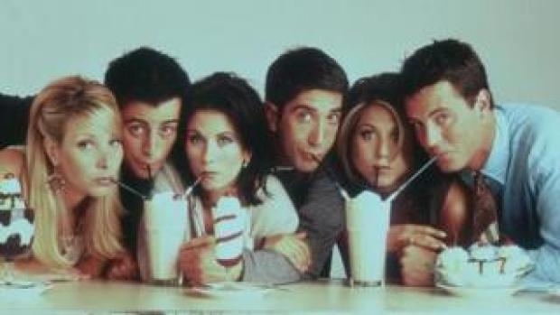 Friends cast in 1997