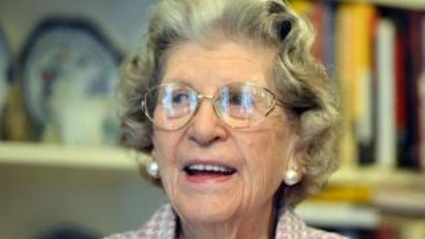 Baroness Trumpington in 2014