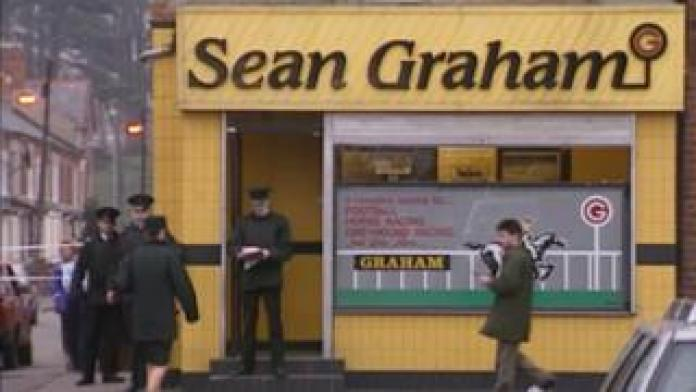 Shooting at Sean Graham bookmakers