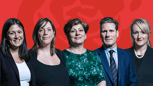 Labour leadership candidiates
