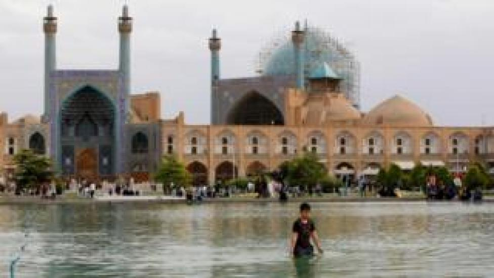 Naqsh-e Jahan Square in the city of Isfahan
