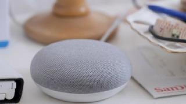 Google Home speaker {focus_keyword} Google probes leak of smart speaker recordings - BBC News  107849239 054599705 1