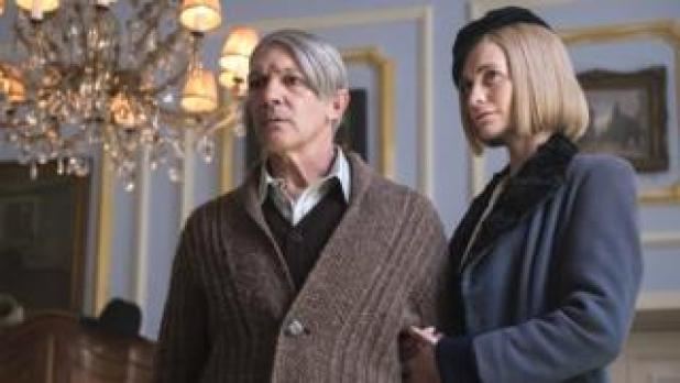 Antonio Banderas as Picasso and Poppy Delevingne as Marie-Therese Walter