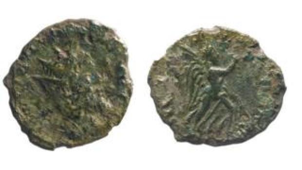 Ulpius Cornelius Laelianus coin
